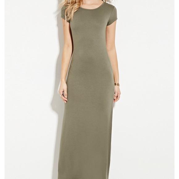Forever 21 Dresses & Skirts - Forever 21 T-shirt Maxi Dress